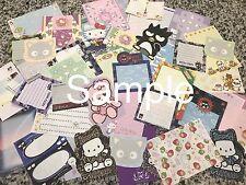 Hello Kitty Sanrio Stationery / Stationary Lot Vintage Kawaii