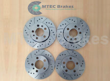 A3 Quattro 2.0 TDi 170 Drilled Grooved Rear Brake Discs 06-13
