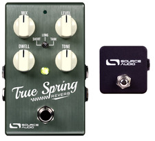 Source Audio Sa247 True Spring Reverb Effects Pedal w/ Sa167 Tap Switch