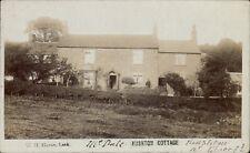 Rushton near Congleton & Leek. Rushton Cottage by W.H.Horue, Leek.