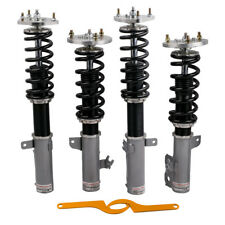 For Toyota Camry 92-01 Coil Over Spring Adj. Height Shock Absorbers Struts Grey
