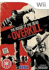 The House of the Dead: Overkill Nintendo Wii PAL VERY GOOD CONDITION WITH MANUAL