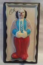 Patof , clown , Jacques Desrosiers.  3D wall decoration