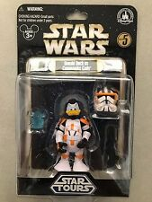 NEW Donald Duck as Commander Cody Disney Park Star Wars Action Figure Star Tours