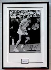 """Steffi Graf signed framed photo 9"""" x 13"""". Will ship without glass"""