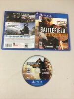 Battlefield Hardline (Sony PlayStation 4, 2015) CLEAN Disc Tested Quality