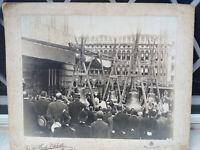 FOTOGRAFIA VINTAGE VENEZIA 15 GIUGNO 1910 BENEDIZIONE DELLE CAMPANE DI SAN MARCO
