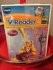 VTech V.Reader Disney Tangled  -Educational Interactive E-Reading System New (A)