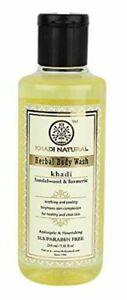 Khadi Natural Sandal & Turmeric Body Wash 210ml