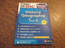 ABC du BAC histoire-geographie TERMINALE S