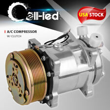Air Conditioner A/C Compressor Clutch For Sd508 Sanden Style A/C Ports 8 Grooves