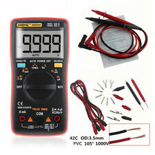 AN8009 True-RMS Auto Range Digital Multimeter AC DC Voltage Meter Ammeter Tester