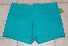 NWT Lilly Pulitzer Womens Size 10 Turquoise Blue Natalia Shorts