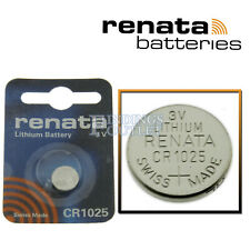 CR1025 Renata Watch Battery Swiss Made 3V Lithium Battery Official Distributor