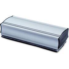 """Lorell Magnetic Eraser Dry Erase Board Silver, Black Aluminum 59265 1028975150"""