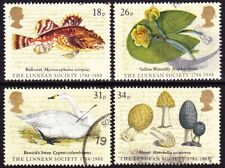 1988 GREAT BRITAIN THE LINNEAN SOCIETY USED SET