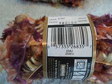 Bernat Boa Yarn 12 Skeins EMU Color 81307