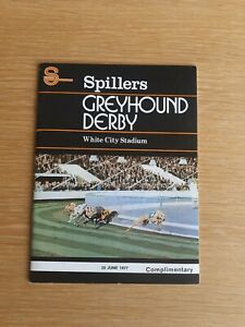 1977 GREYHOUND DERBY - BALLINISKI BAND