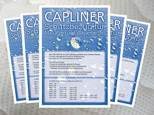 Topliner Capliner Schonbezug Staubschutz für Wasserbetten, verschiedene Größen