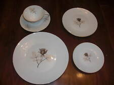 ROSENTHAL SHADOW ROSE 5 PIECE PLACE SETTING