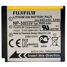Fujifilm NP-50 Lithium Li-Ion Rechargeable Original Battery For FinePix F100fd