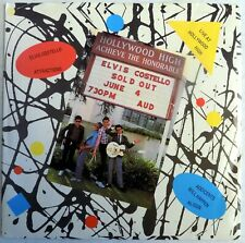 """Elvis Costello - Live At Hollywood High EP - 1978 - Promo 7"""" - USA - Near Mint"""