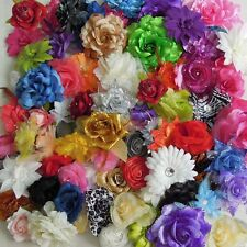 27PCS Mixed Lots Assorted Color Type Cute Prima Fabric Flowers Collection 37331