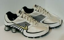 Nike Shox NZ Turbo + 8, 344951-101, White/Black, Men's Running Shoes, Size 9