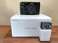Fujifilm GFX 50R Medium Format Mirrorless Digital Camera (Black)
