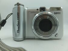 Canon PowerShot A630 8.0MP Digital Camera - Silver