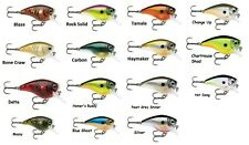 Rapala BXB06CSD Balsa Xtreme 3/8 Oz 6 FT Chart Shad Crankbait Fishing Lure
