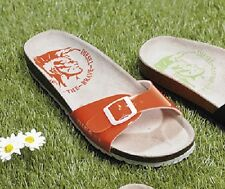 LADIES DIESEL CANDY ORANGE SLIP ON SANDALS - UK SIZE 7 - BRAND NEW.