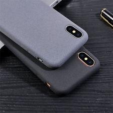ULTRA-Sottile Opaco Custodia morbida in silicone Slim TPU Custodia in Gomma peluche copertura per Smart Phone