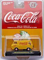 M2 MACHINES COCA COLA COKE HOBBY 1965 FORD ECONOLINE DELIVERY VAN YR01