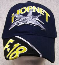 Embroidered Baseball Cap Military Airplane F-18 Hornet NEW 1 hat size fits all