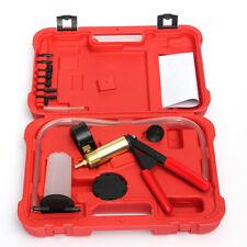 Car Hand Held Vacuum Pressure Pump Tester Brake Bleeder Bleeding Tool With Box