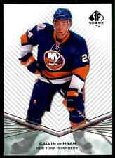 2011-12 SP Authentic Rookie Calvin De Haan Rookie #R58