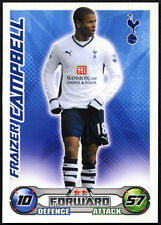 Fraizer Campbell-Tottenham Hotspur-Match Attax 08/09 tarjeta de comercio (C415)
