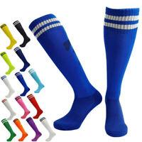 Football Soccer High Socks Thick Basketball Sport Over Knee Adult Kid Anti-skid