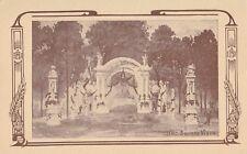 Arc Square Viger Congrès Eucharistique MONTREAL Quebec Canada 1910 Illustrated