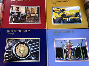 Automobile Quarterly Vol 40  4 Books No. 1,2,3,4