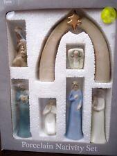 New Porcelain Nativity Elegant Decorator Version Mib Lladro Style Figurines
