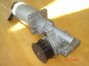 Motor, Stanley DuraGlide Gearbox & Pulley