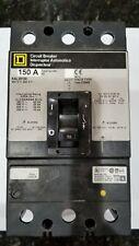 Square D Kal36150 Circuit Breaker 150Amp 3Pole 600Vac 250Vdc 50/60Hz Kal-36150