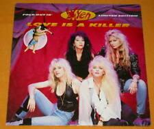 VIXEN 25 cm 45 RPM 10MT 91 3 SONGS, 1990. LOVE IS A KILLER , STREET IN PARADISE