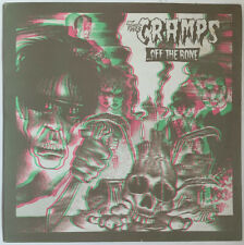 THE CRAMPS OFF THE BONE LP ILLEGAL UK 1983 WITH 3D GLASSES EXC PRO CLEANED