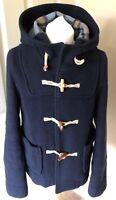Debenhams Red Herring Navy Wool Jacket 10 Blue Wool Mix