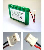 7.2V 103-301179, GP130AAM6BMX Visonic Powermax replacement alarm battery