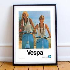 22x34 Inch Poster Art Advert Vespa