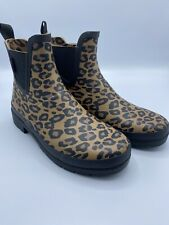 NEW TRETORN Women's Size 10 Leopard Lina 2 Rainboot Eco Ortholite Insoles